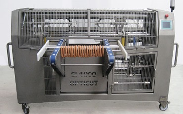 Machines de production de chapelets de saucisses